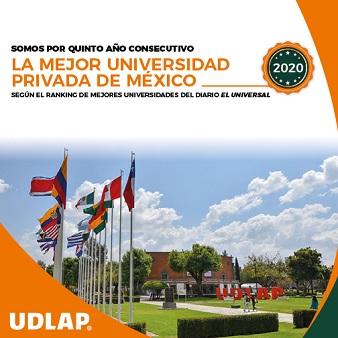 UDLAP Mejor Universidad
